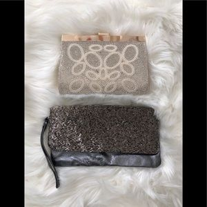 Sparkly clutches
